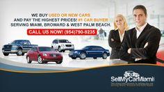 We buy cars in Miami, Broward & West Palm Beach (954)790-9235
