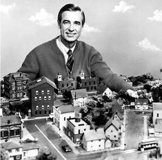 """February 19, 1968: """"Mister Rogers' Neighborhood,"""" the longest-running program on public television, premieres in America. [Family Communications, Inc.; The Neighborhood Archive]"""