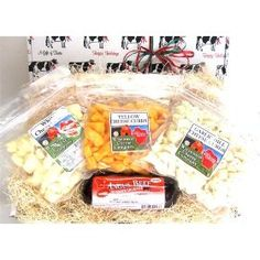 Wisconsin Cheese Curds and Sausage Box