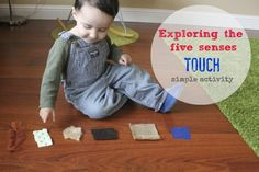 cute and peculiar: Exploring the five sense - Touch