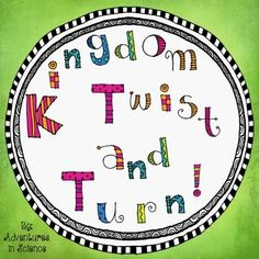 Kingdom Twist and Turn is a totally fun and new game to help students learn about the different kingdoms and domains! Five overlapping circles are twisted and turned until the student correctly matches up each characteristic with the appropriate kingdom! Although it might seem easy at first, some characteristics can fit in more than one spot so you have to make sure that everything matches! $