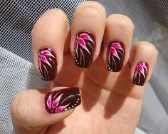 20 Beautiful Brown Nail Art Designs