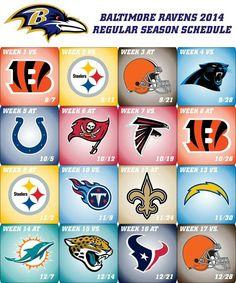 Ravens 2014 Schedule