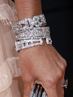 Cartier diamond bracelets