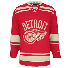 Detroit Red Wings 2014 Winter Classic jersey.