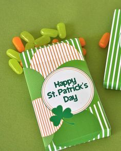 St Patrick's Day free printable boxes and bags | FREE Printables} – St. Patrick's Day Printables