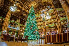 Wilderness Lodge Christmas Tree (by WDW Shutterbug)