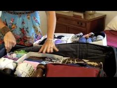 Get Simplifized! Pack Your Luggage Like A Pro Quick Tip - YouTube