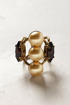 Pearl stack ring   Anthropologie