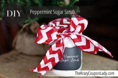 DIY: Peppermint Candy Cane Sugar Scrub