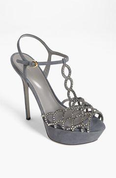 Sergio Rossi 'Vague' Platform Sandal