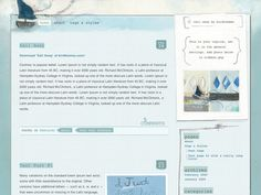 http://birdthemes.com/sail-away/ - Wordpress Theme