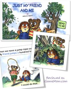 Another Little Critter Story that teaches kids about play date etiquette