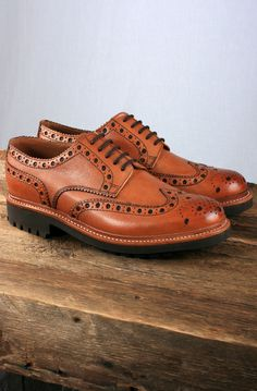 Grenson Equips The Archie With A Commando Sole.