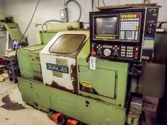 OKUMA CNC TURRET LATHE, MODEL No. LB15, S/N: 9347, 220/440 VOLT, 3 PHASE, 12 TOOL TURRET, OKUMA CONTROL (MACHINE UNDER POWER AND RUNNING)  Online Auction of Large Capacity CNC Lathes, Large Quantity of Hand Tools, & Toolroom Equipment - Bidding Open Now until June 18th Bidding Starts to Close at 1:00 PM/Eastern on the final day of bidding  http://bid.acceleratedbuysell.com/cgi-bin/mnlist.cgi?perillo72%2Fcategory%2FALL