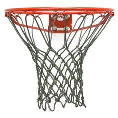 Basketball net for indoor hoops