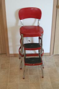 old red stepstool & extra seat...Got it