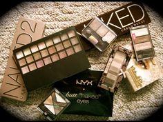 """My favorite drugstore alternatives in the """"Naked"""" eye trend!"""