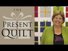 The Present Quilt: Easy Quilting with Charm Packs or Layer Cakes - YouTube