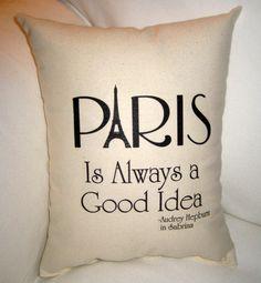 Paris is definitely a good idea.