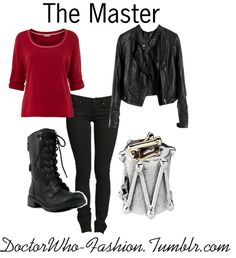 """The Master"" by doctor-who-fashion ❤ liked on Polyvore"