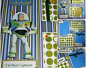 12x12 Premade Scrapbook Pages Disney Buzz Light Year Toy Story Pixar Animation Paper Piercing Galactic Fun