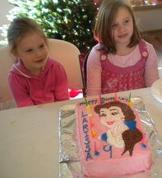 "Cake Decorating 101: a Disney ""Belle"" Birthday Cake Tutorial"