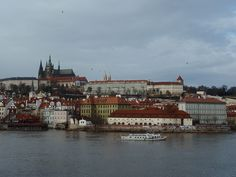 Prague Cathedral...view from Charles Bridge