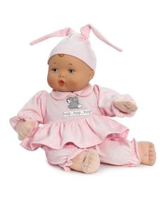 Love this My First Baby Bunny Love Doll on #zulily! #zulilyfinds