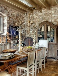Dining room - rustic