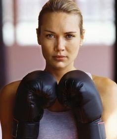 tried boxing once. gaaaaaaaahhh. it's tiring but it's a great workout.