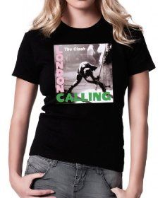 The Clash - London Calling - Ladies T-shirt