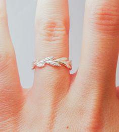 Silver Grass Ring