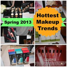 CEW Awards 2013: Spring's Hottest Makeup Trends