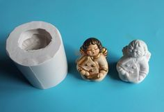 Angioletto thun stampo per ceramica