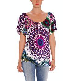 t-shirt desigual woman at vd