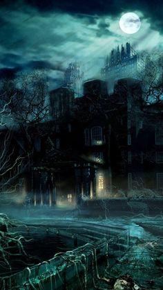 Beautiful Moon dark iphone wallpaper, illustration art wallpaper, prompts, haunt moon, haunted moon, beauti moon, art pictures, wallpaper iphone art, art wallpaper iphone