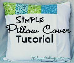 Pillow cover tutorial simpl pillow, pillow covers