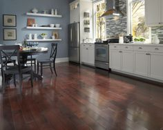 Tuscan Red Birch is a NEW floor this year! What do you think of this 2014 trend?