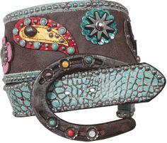 Double J Saddlery horseshoe belt