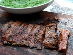 spice rubbed grilled skirt steak