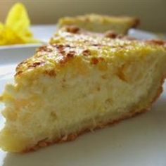 "Ricotta Pie (Old Italian Recipe) | ""This is an old Italian recipe for a pie with a sweet crust--just like from the old country"""