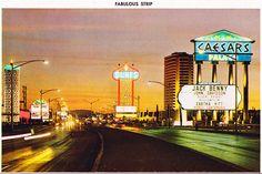 Las Vegas Strip, Caesars Palace 1967