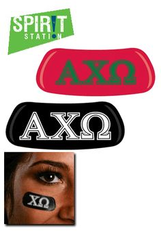 Alpha Chi Omega Eye Black