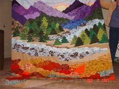 Mountain Landscape Quilt