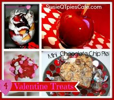 4 Homemade Valentine Treats for this sweet holiday!