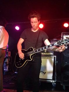 Shaun White playing with Bad Things at Mercury Lounge in NYC. March 1, 2014. Photo by notastar8 on Tumblr.
