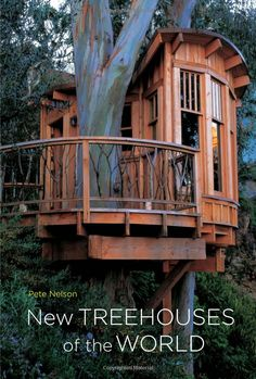 I want Pete Nelson to build my Treehouse! I adore his designs. Get this book if you love tree houses too