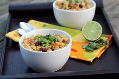 Costco Plan #1 Spicy Quinoa with Kidney Beans, Corn and Lime