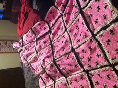 Crochet quilt super easy!!
